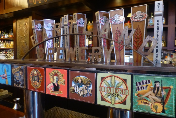 Heartland Brewery Midtown West, New York City, Bier in New York, Bier vor Ort, Bierreisen, Craft Beer, Bierbar
