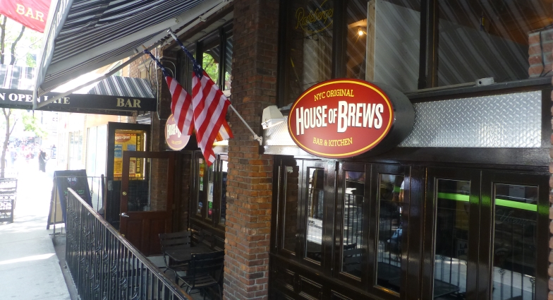 House of Brews 51st Street, New York City, Bier in New York, Bier vor Ort, Bierreisen, Craft Beer, Bierbar