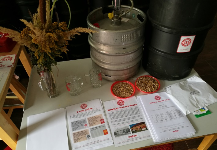 Řemeslný Pivovar Husar, Koválovice, Bier in Tschechien, Bier vor Ort, Bierreisen, Craft Beer, Brauerei
