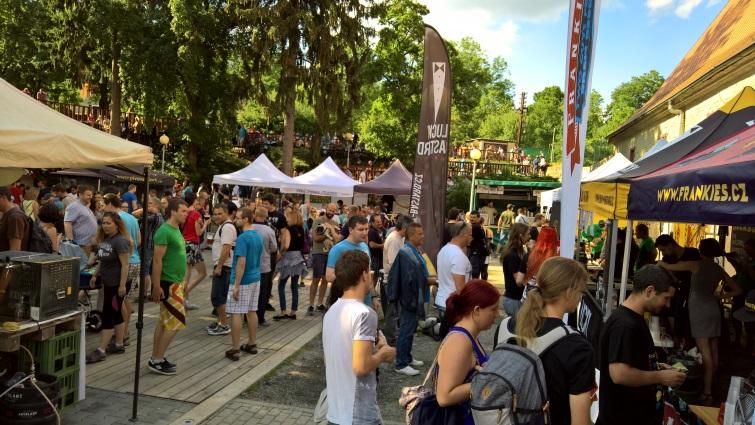 II. Řečkovický Festival Minipivovarů, Řečkovicke, Bier in Tschechien, Bier vor Ort, Bierreisen, Craft Beer, Bierfestival