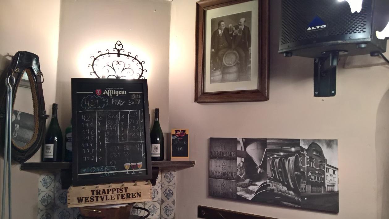 L'Imaige Nostre-Dame, Brüssel, Bier in Belgien, Bierreisen, Craft Beer, Bierbar