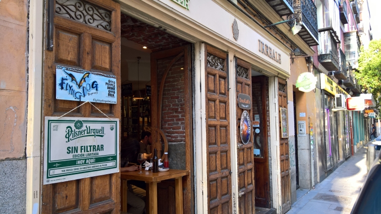 Irreale, Madrid, Bier in Madrid, Bierbar, Bier vor Ort, Bierreisen, Craft Beer