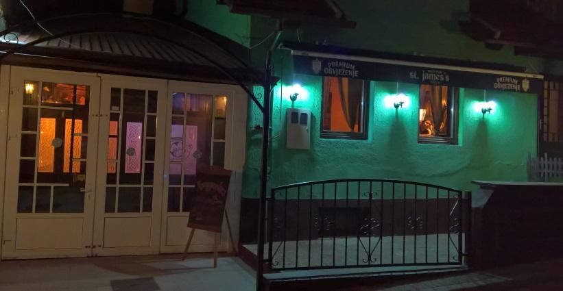 St. James's Irish Pub, Tuzla, Bier in Bosnien und Herzegowina, Bier vor Ort, Bierreisen, Bierbar