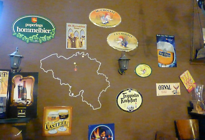 KRIEK Belgian Pub & Cafe, Poznań, Bier in Polen, Bier vor Ort, Bierreisen, Craft Beer, Bierbar, Trappistenbier