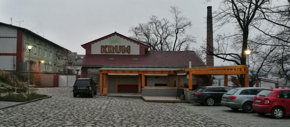 Pivovar Krum, Moravský Krumlov, Bier in Tschechien, Bier vor Ort, Bierreisen, Craft Beer, Brauerei, Gasthausbrauerei