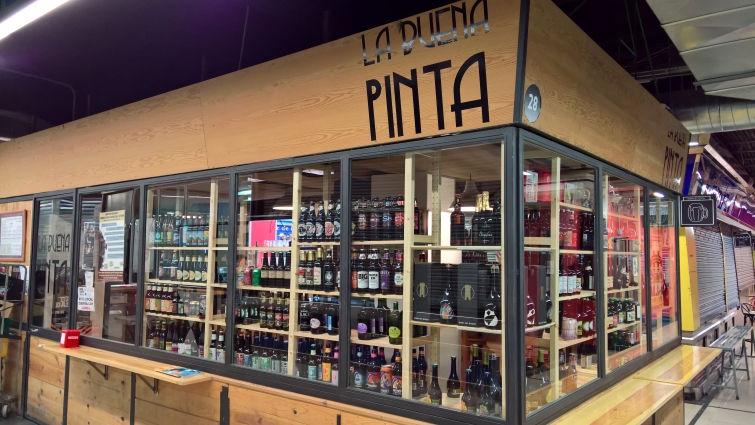 La Buena Pinta, Madrid, Bier in Madrid, Bottle Shop, Bier vor Ort, Bierreisen, Craft Beer