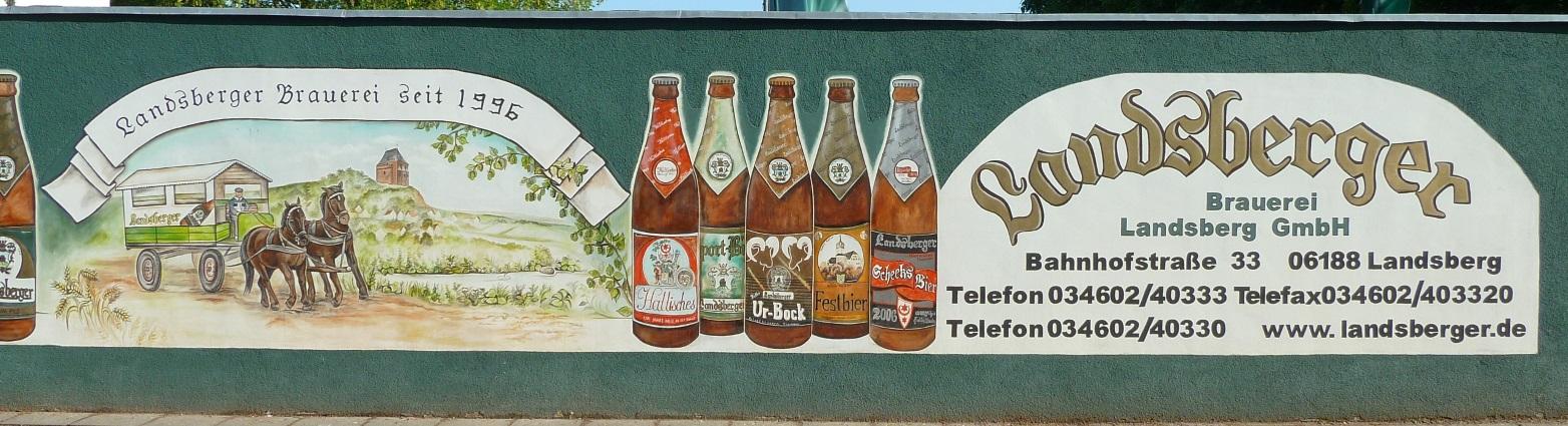 Brauerei Landsberg GmbH, Landsberg, Bier in Sachsen-Anhalt, Bier vor Ort, Bierreisen, Craft Beer, Brauerei