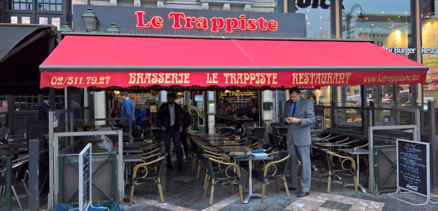 Le Trappiste, Brüssel, Bier in Belgien, Bierreisen, Craft Beer, Bierrestaurant