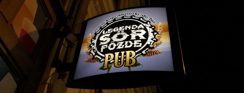 Legenda Sörfőzde Pub, Budapest, Ungarn, Bier vor Ort, Bierreisen, Craft Beer, Bierbar