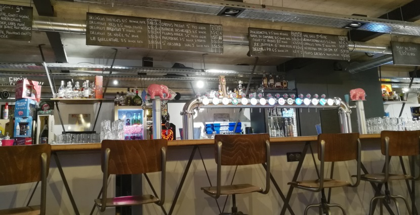 Little Delirium Café, Nancy, Bier in Frankreich, Bier vor Ort, Bierreisen, Craft Beer, Bierbar
