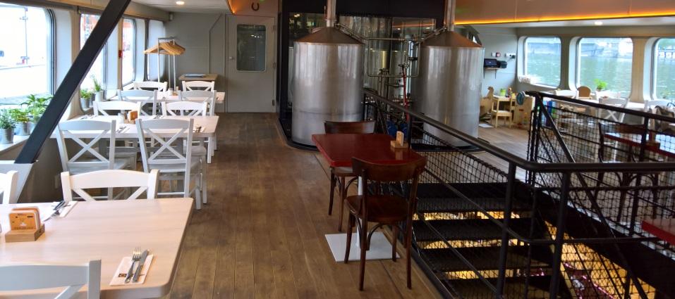 Loď Pivovar, Prag, Bier in Prag, Bier vor Ort, Bierreisen, Craft Beer, Brauerei