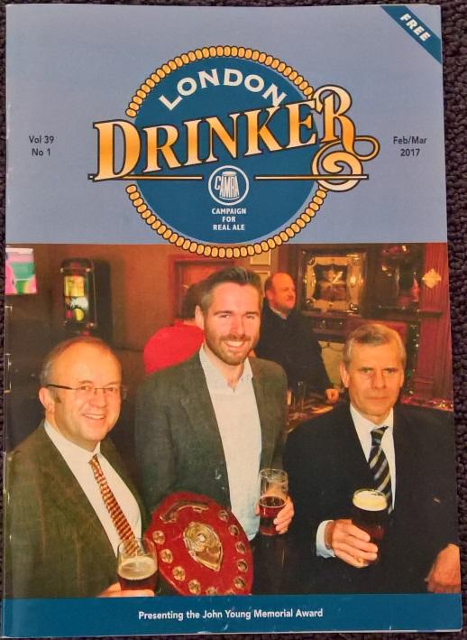 London Drinker, London, Bier in London, Bier vor Ort, Bierreisen, Craft Beer