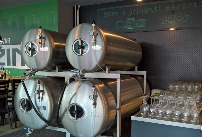Pivovar Lužiny, Prag, Bier in Tschechien, Bier vor Ort, Bierreisen, Craft Beer, Brauerei