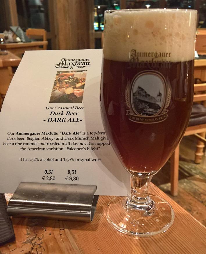 Ammergauer Maxbräu, Oberammergau, Bier in Bayern, Bier vor Ort, Bierreisen, Craft Beer, Brauereigasthof