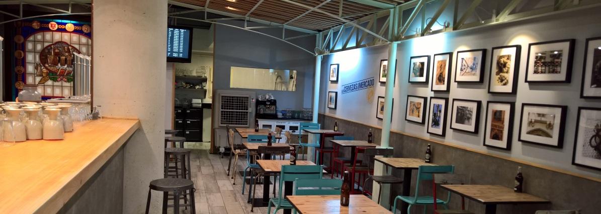 Las Cervezas del Mercado, Valencia, Bier in Spanien, Bier vor Ort, Bierreisen, Craft Beer, Bierbar, Bottle Shop, Bierrestaurant