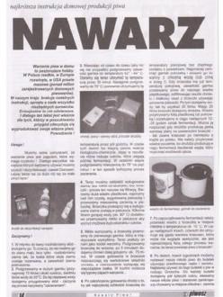 Nawarz Piwa! (Teil 1: Piwosz – Juni 2000)