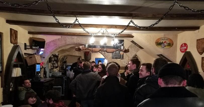 Aux Paraiges, Metz, Bier in Frankreich, Bier vor Ort, Bierreisen, Craft Beer, Bierbar