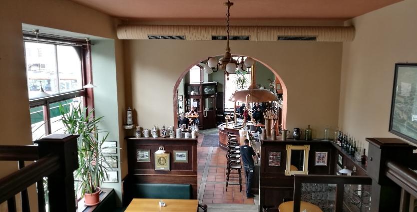 Pilsner Urquell Original Restaurant Drápal, Olomouc, Bier in Tschechien, Bier vor Ort, Bierreisen, Craft Beer, Bierrestaurant