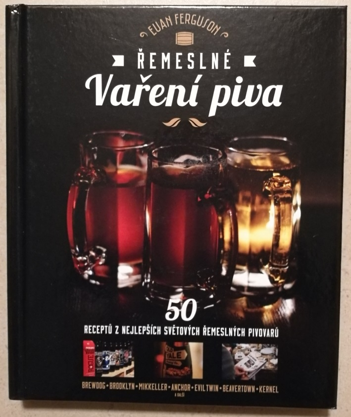 Euan Ferguson – Řemeslné Vaření Piva, Bierbuch, Bier vor Ort