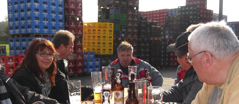 Brauerei und Abfüllzentrum Franz und Georg Rittmayer, Hallerndorf, Bier in Franken, Bier in Bayern, Bier vor Ort, Bierreisen, Craft Beer, Brauerei
