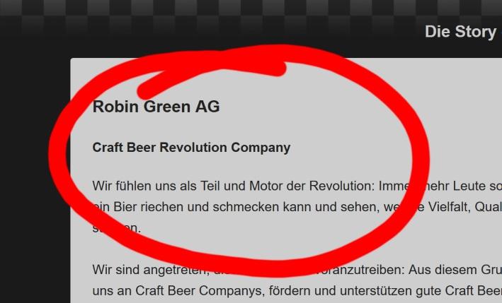 Wir fühlen uns als Teil und Motor der Revolution, Craft Beer
