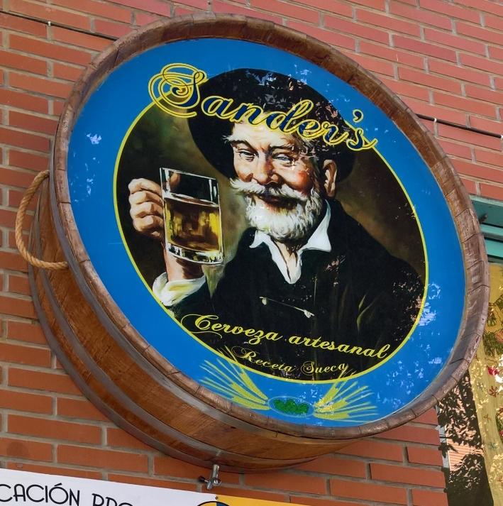 Sander's Brewery, Valencia, Bier in Spanien, Bier vor Ort, Bierreisen, Craft Beer, Brauerei, Bierbar, Bierrestaurant