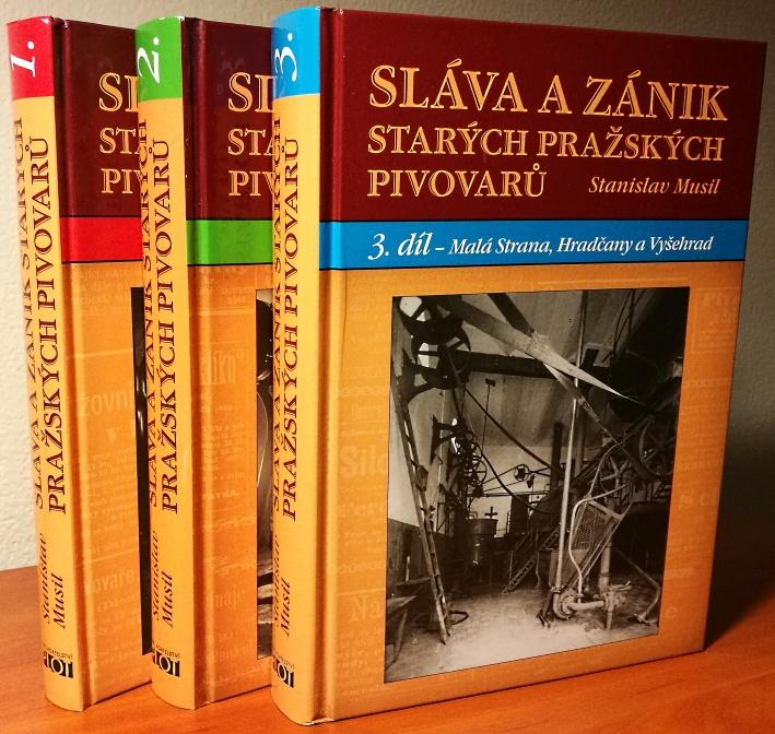 Stanislav Musil, Sláva a Zánik Starých Pražských Pivovarů, Prag, Bier in Tschechien, Bier vor Ort, Bierreisen, Craft Beer, Brauerei, Bierbuch