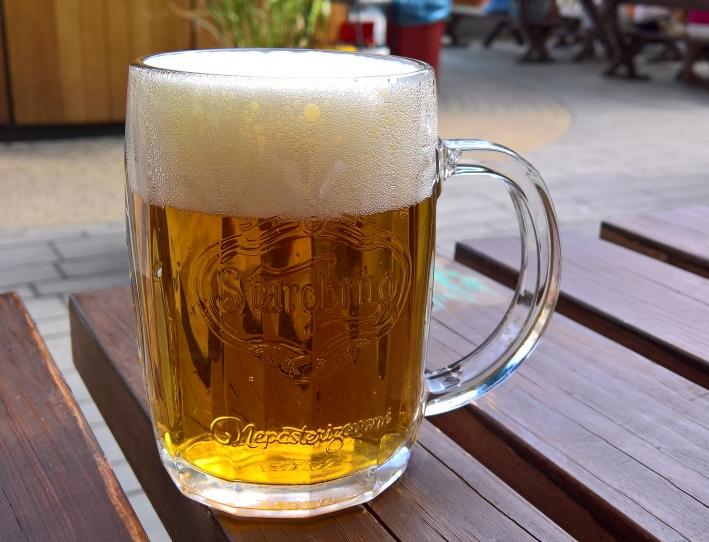 Pivovarská Starobrno, Brno, Bier in Tschechien, Bier vor Ort, Bierreisen, Craft Beer, Biergarten