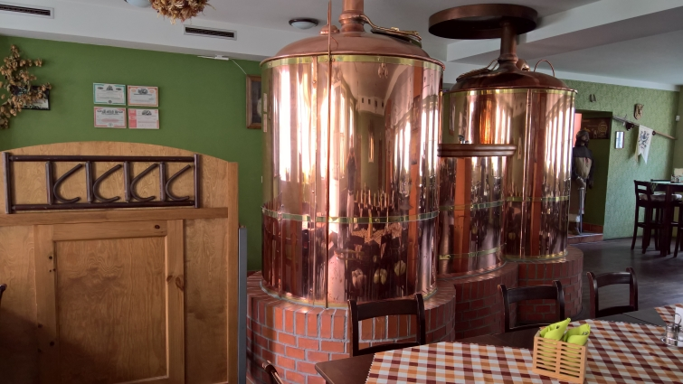Svatováclavský Pivovar, Olomouc, Bier in Tschechien, Bier vor Ort, Bierreisen, Craft Beer, Brauerei