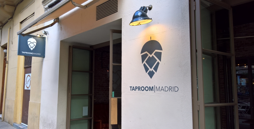Taproom, Madrid, Bier in Madrid, Bierbar, Bier vor Ort, Bierreisen, Craft Beer