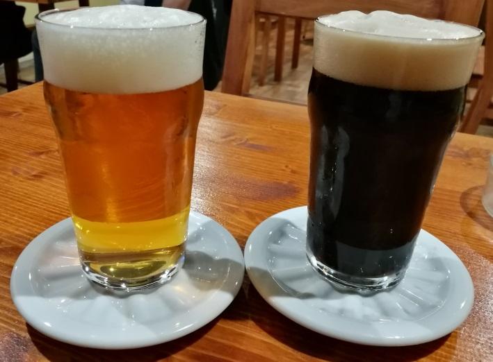 Pivnice Pivovaru Trilobit, Prag, Bier in Tschechien, Bier vor Ort, Bierreisen, Craft Beer, Bierbar