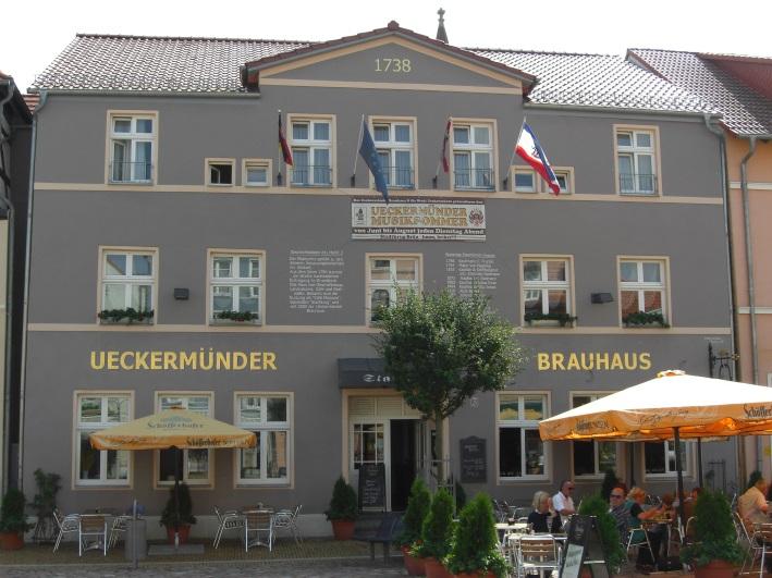"""Ueckermünder Brauhaus """"Stadtkrug"""", Ueckermünde, Bier in Mecklenburg-Vorpommern, Bier vor Ort, Bierreisen, Craft Beer, Brauerei, Gasthausbrauerei"""