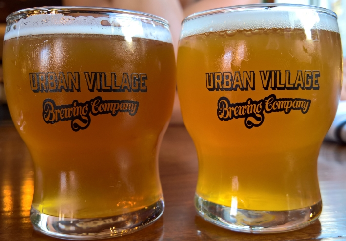 Urban Village Brewing Company, Philadelphia, Bier in Pennsylvania, Bier vor Ort, Bierreisen, Craft Beer, Brauerei