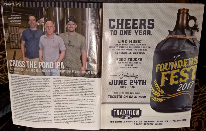 Virginia Craft Beer – A Revolution is Brewing, Norfolk, Bier in Virginia, Bier vor Ort, Bierreisen, Craft Beer, Biermagazin