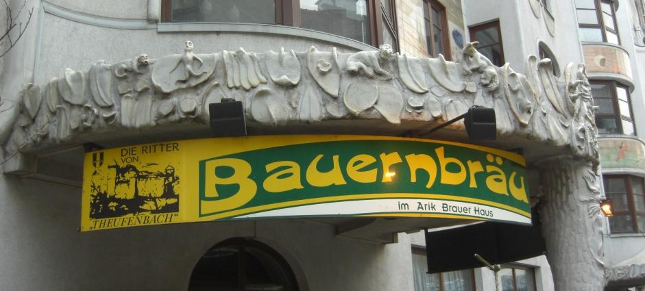 Bauernbräu im Arik Brauer Haus, Wien, Bier in Österreich, Bier vor Ort, Bierreisen, Craft Beer, Brauerei, Wien, Bier in Österreich, Bier vor Ort, Bierreisen, Craft Beer, Bierbar