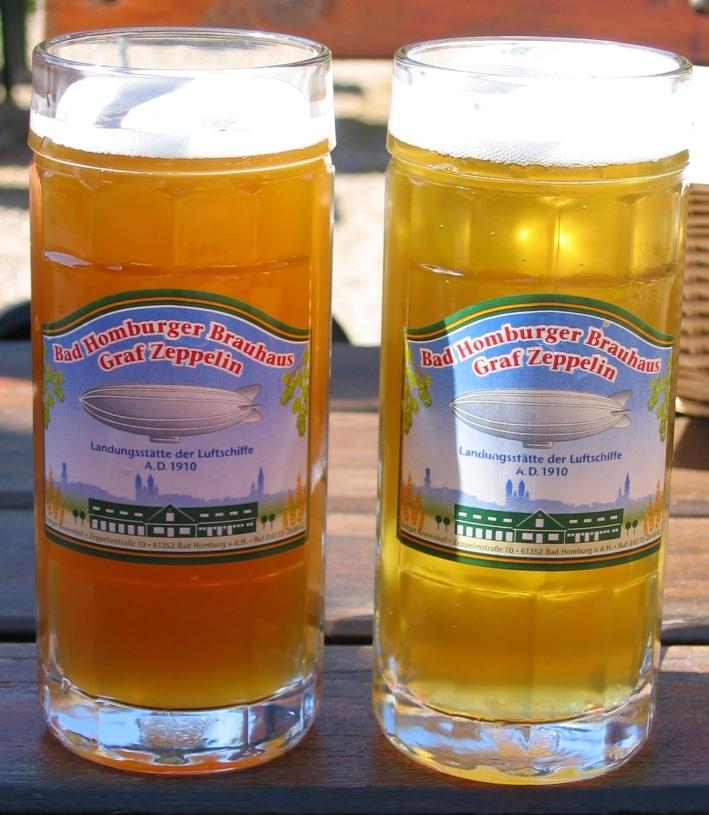 """Bad Homburger Brauhaus GmbH & Co. KG """"Graf Zeppelin"""", Bad Homburg, Bier in Hessen, Bier vor Ort, Bierreisen, Craft Beer, Brauerei, Gasthausbrauerei"""