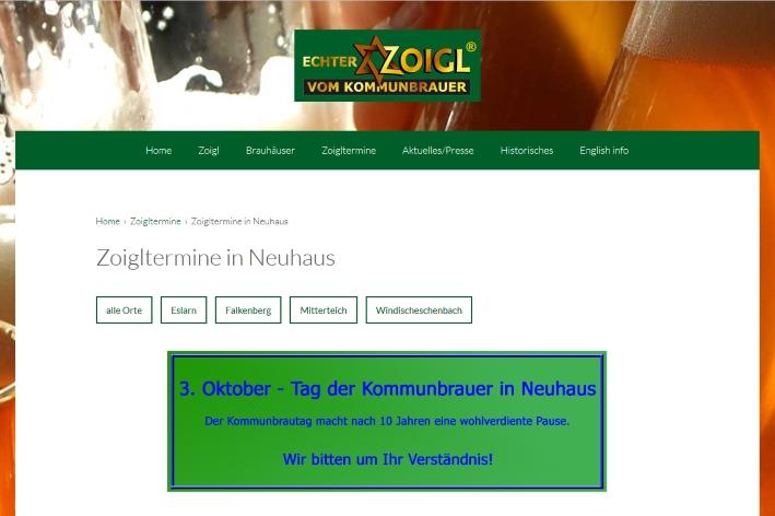 Tag der Kommunbrauer Neuhaus, Bier in der Oberpfalz, Bier vor Ort, Bierreisen, Craft Beer, Bierbuch